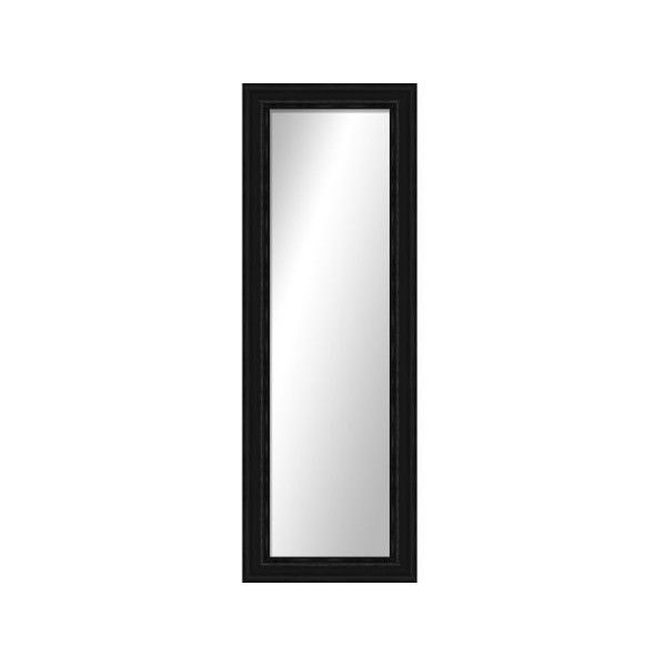 """Montebello Black Full Length Mirror, Hanging wall mirror, 17.25""""W x... (76 CAD) ❤ liked on Polyvore featuring home, home decor, mirrors, black full length mirror, hanging wall mirror, wall mirrors, full length wall mirror and wall mounted full length mirror"""