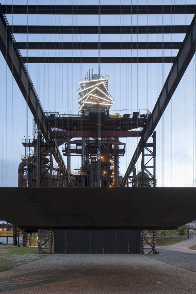 Ostrava, Bolt tower, architekt Josef Pleskot, návrh osvětlení http://astatelier.cz