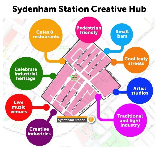 The proposed Sydenham Creative Hub