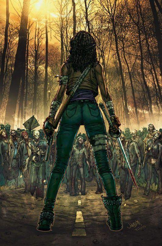 "imthenic: ""Walking Dead #1 variant cover by Jonboy Meyers...... !!!!"