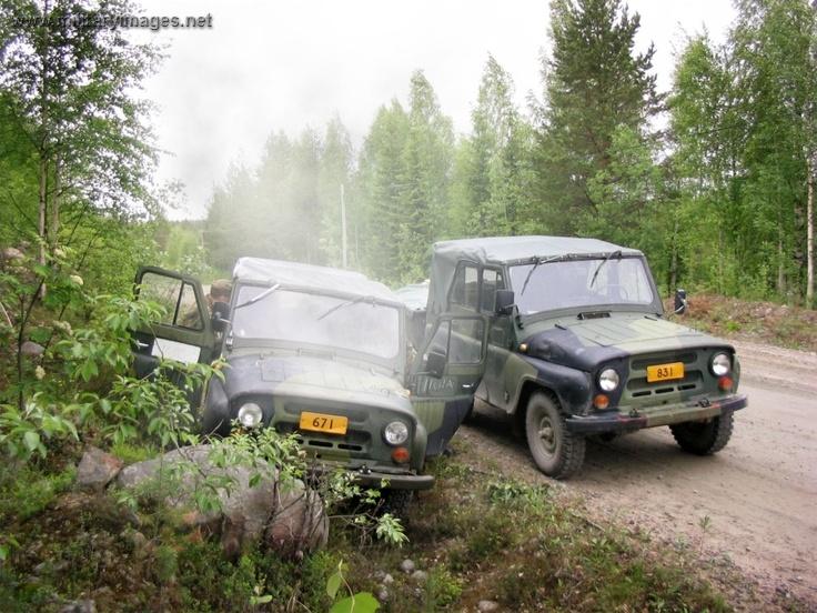 UAZ - Finnish Army