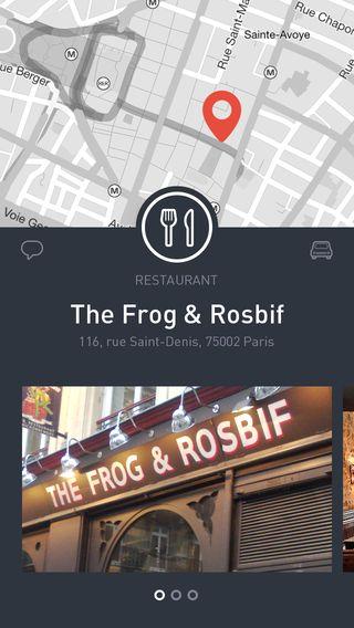 Places ios app