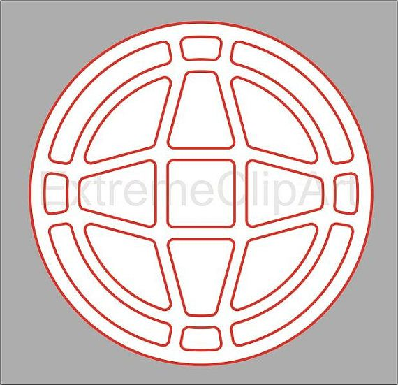 Coasters Stencil Cutout Template DXF SVG Decorative Circles
