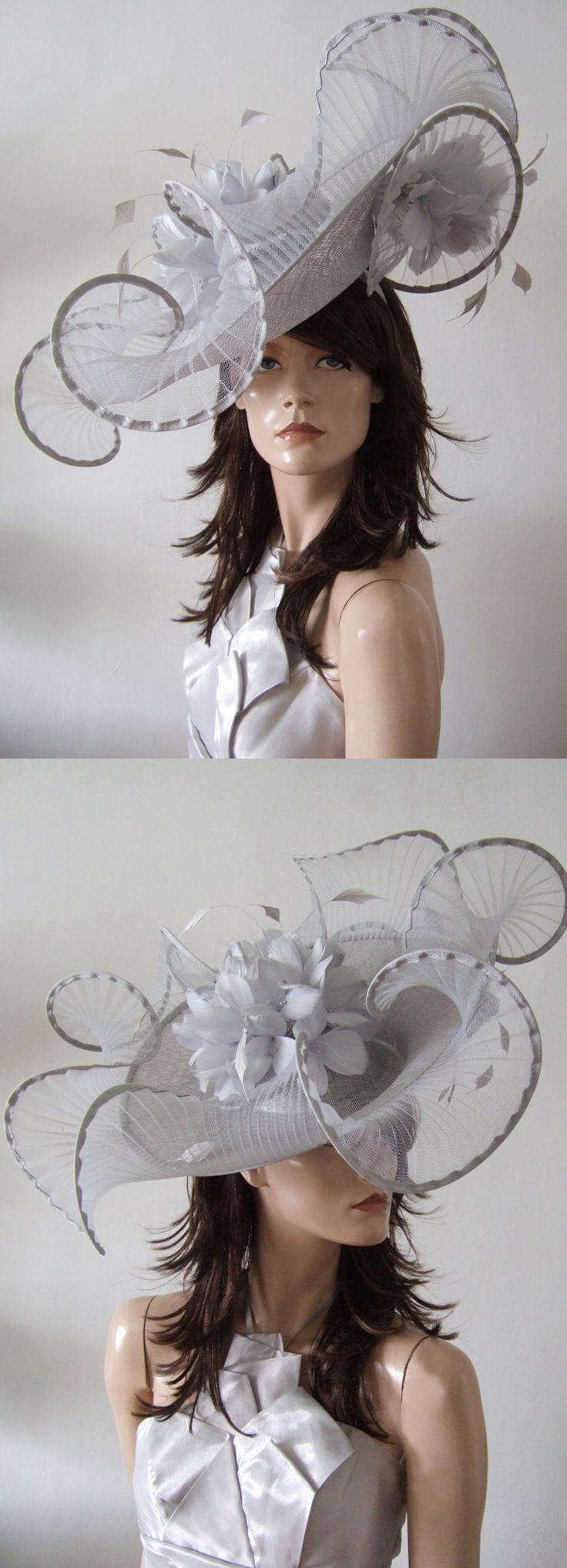 Silver derby hat