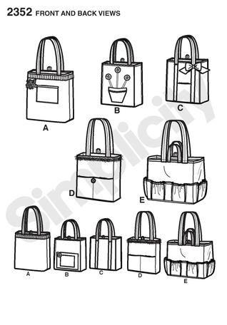 free bingo bag sewing pattern - Bing Images