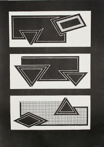 Black Stack - Frank Stella