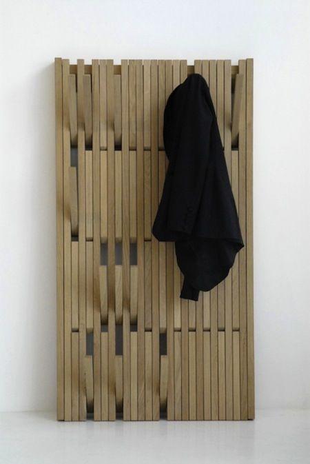 A fun coat rack design by Patrick Seha
