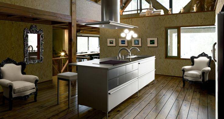 Kitchen:Chic Japanese Most Inspiring Best Modern Contemporary Original Japanese Toyo Kitchen Island Hood Vents Lights Remodels Accessories P...