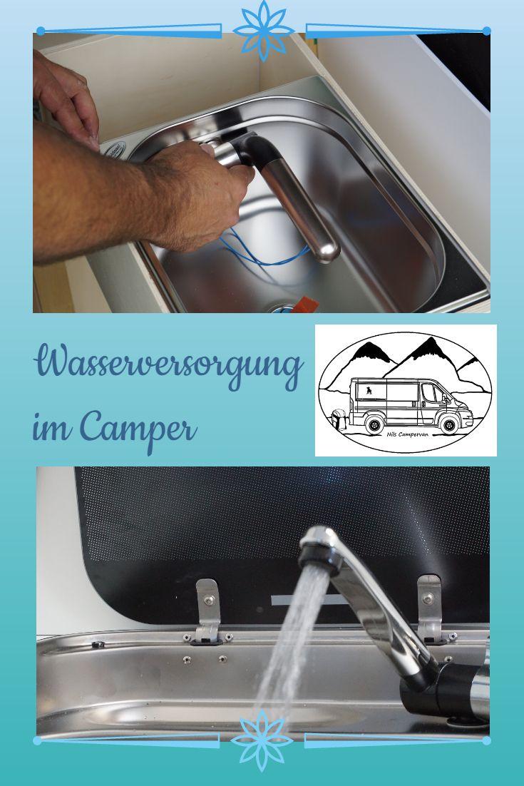 Wasserversorgung Im Camper Wasserversorgung Camper Ideen Und