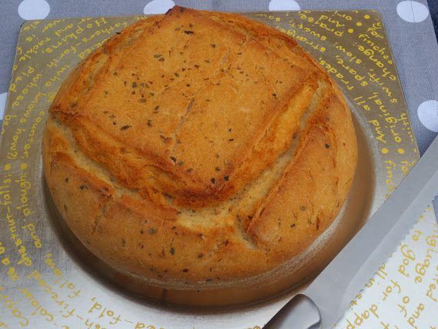 Pan de ajo y orégano con Thermomix