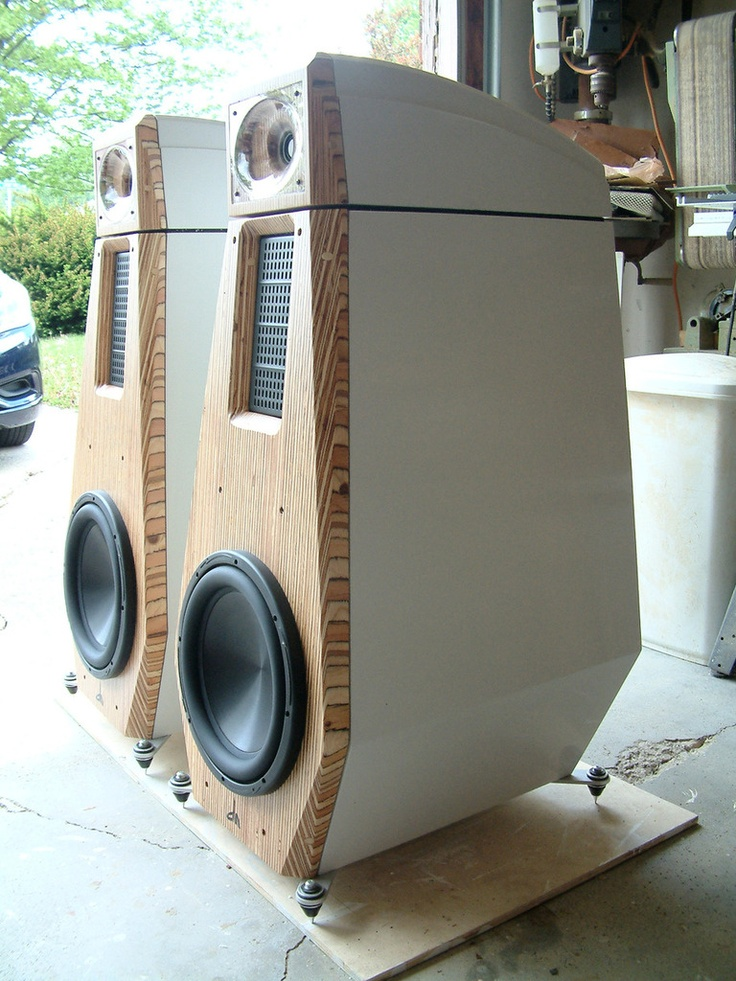 Amazing high-end speakers made at home by someone with way more skill than me.