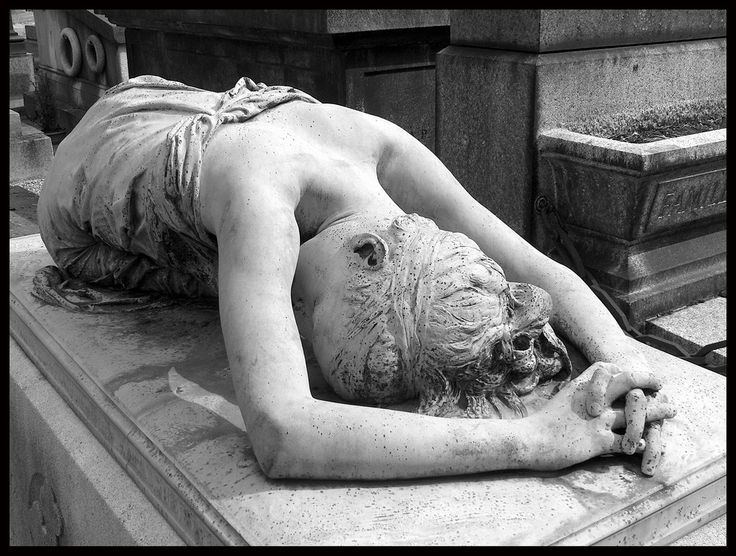 Beautiful. But sad.... Montmartre Cemetery