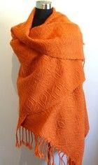 Hand woven shawl.