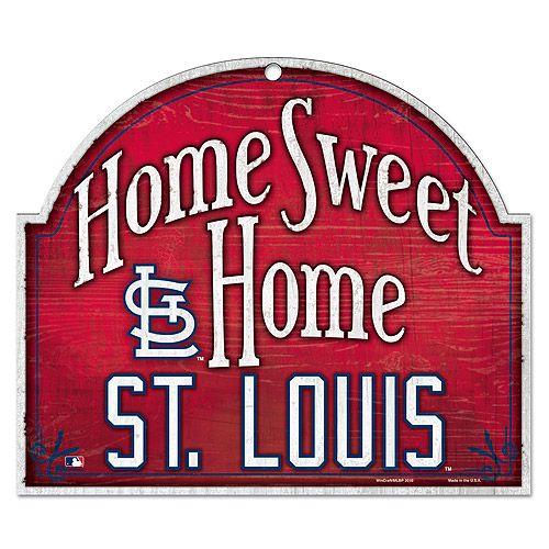 St. Louis Cardinals Home Sweet Home Wood Sign - MLB.com Shop