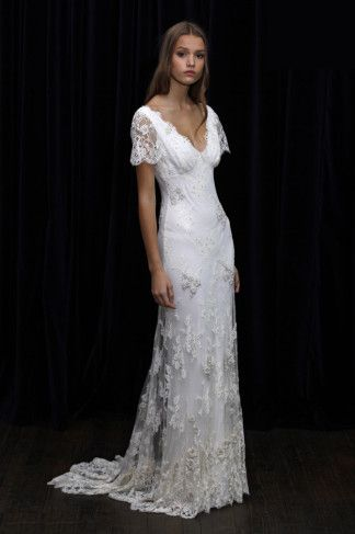 Wedding Dresses: This Temperley dress (contact for pricing) is endlessly romantic.