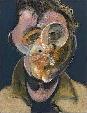Les « gueules cassées »Les visages défigurés de la Grande Guerre | Francis Bacon, Autoportrait, 1969, Collection privée