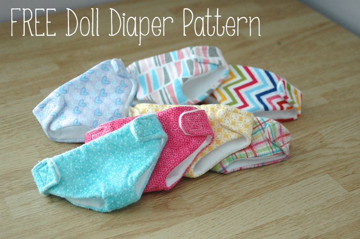 "12 "" doll diapers"