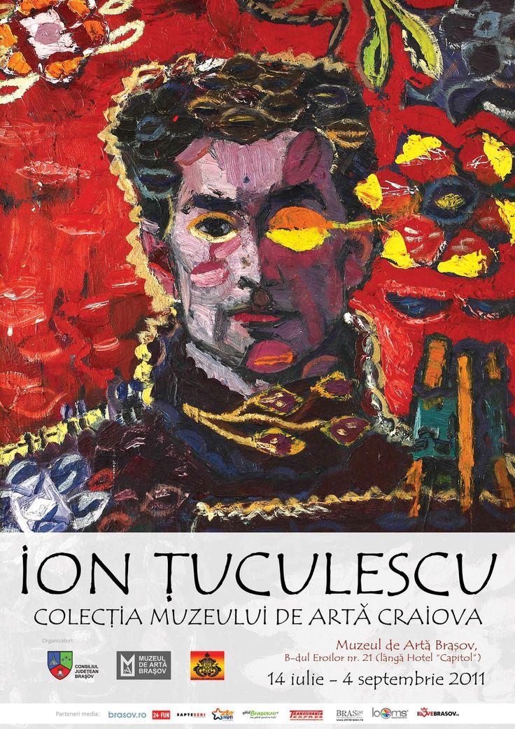 Self Portrait Artist: Ion Tuculescu Style: Post-Impressionism Genre: self portrait Nationality: Romanian