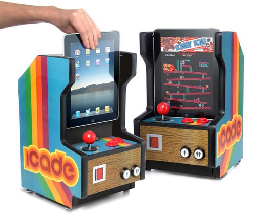 I don't even have an iPad but now I want one!! iPad Mini Vintage Game Consoles!!
