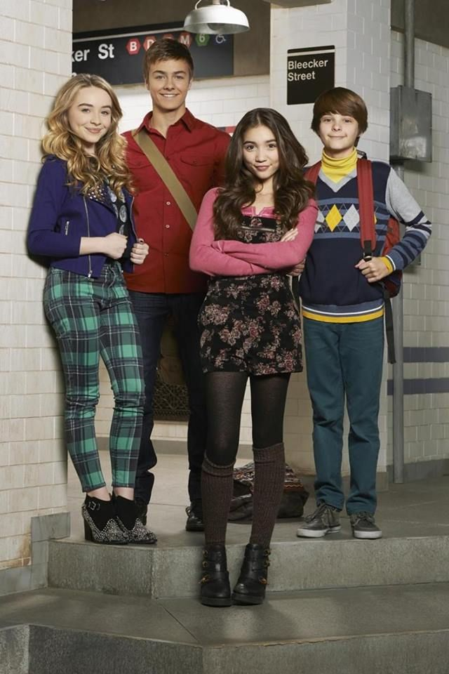 Maya, Lucas, Riley, and Farkle