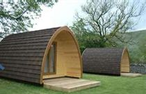 Wooden Camping pods are new to UK, But becoming very popular