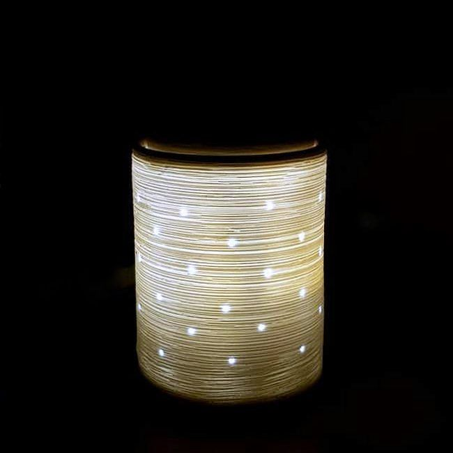 Beautiful Etched Core  #Scentsy #Warmer #White #Light #Fragrance #Classic #Beauty #ScentsWithChristie