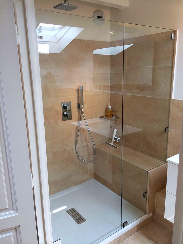 1000 id es propos de douche sur mesure sur pinterest. Black Bedroom Furniture Sets. Home Design Ideas