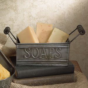 Rustic and functional...love this! $14. This site has other neat antique reproductions. SF