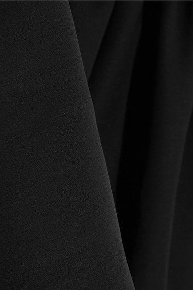 Alexander McQueen - Drop-waist Wool-blend Scuba Dress - Black - IT40