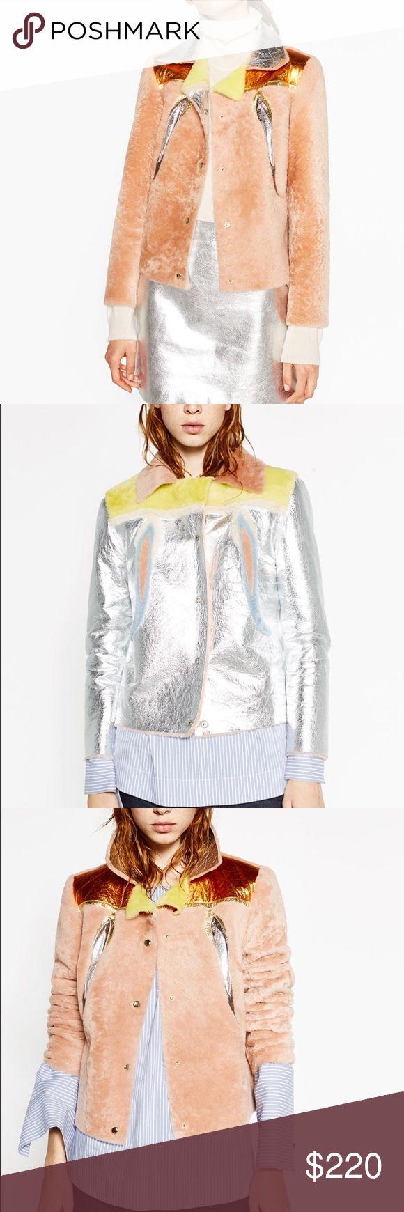 Zara multicolor faux fur reversible jacket NWT Zara multicolor faux fur reversible jacket NWT Zara Jackets & Coats