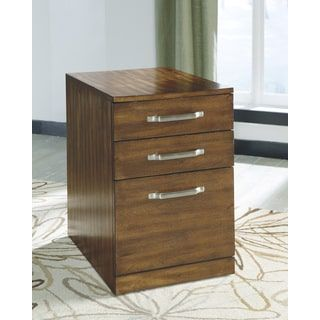 Shop for Signature Design by Ashley Lobink Brown File Cabinet. Get free shipping at Overstock.com - Your Online Furniture Outlet Store! Get 5% in rewards with Club O! - 16608579