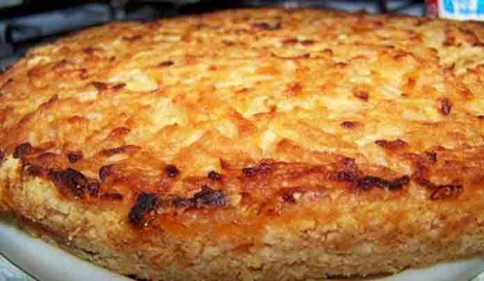 Ленивый пирог с яблоками | Вкусно готовим дома
