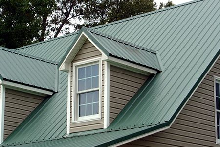 TYPES OF ROOFING SHINGLES (3 of 5) - Metal roofs. Appropriate for homes with especially flat or steep rooflines metal roofs can either be solid metal or constructed metal shingles. Low-end galvanized metal roofs are relatively inexpensive, but can last up to 50 years. Because they're long lasting, durable and inexpensive, metal roofs are becoming a popular option in many areas of the country. Visit http://www.litespeedconstruction for more info