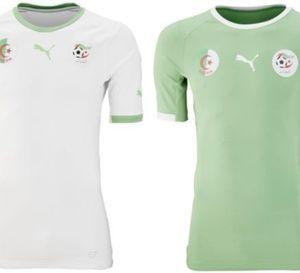 Maillot de l'Algérie pour la coupe du monde au Brésil