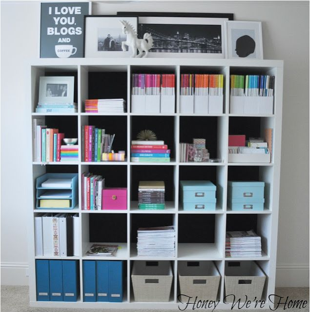 Honey Were Home: My Home Office Organization This would be perfect! And I have t