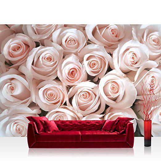 Carta da parati fotografica in tessuto non tessuto 300x 210cm-Top. Premium Plus carta da parati fotografica. Da parete immagine xxl murale foto carta da parati carta da parati carta da parati Decorazione da parete con fiori Rose fiore-no. 185