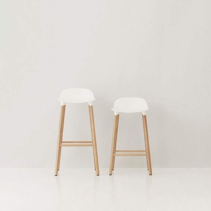 A+R Store - Form Barstool: Oak - Product Detail