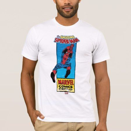 Retro Spider-Man Comic Graphic T-Shirt - tap to personalize and get yours