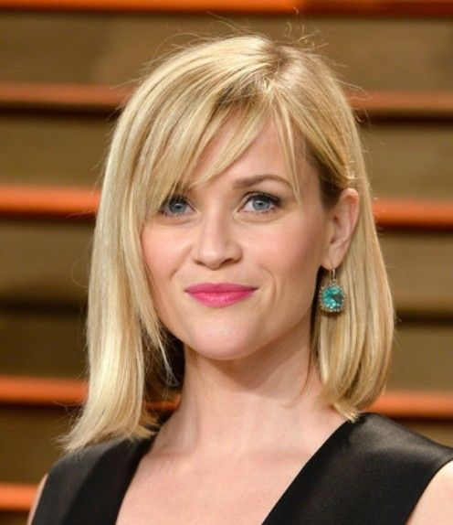 mid length hair styles with bangs best mid length bobs for 2014 bobs and 3089 | e5c506b0bd9bb124814173b3c47b290e