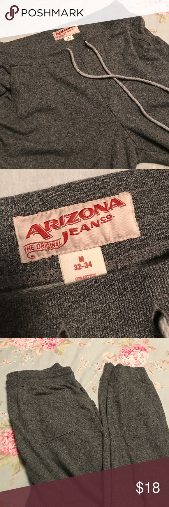 Men's joggers Men's joggers. Size medium 32/34. Offers welcome Arizona Jean Company Pants Sweatpants & Joggers