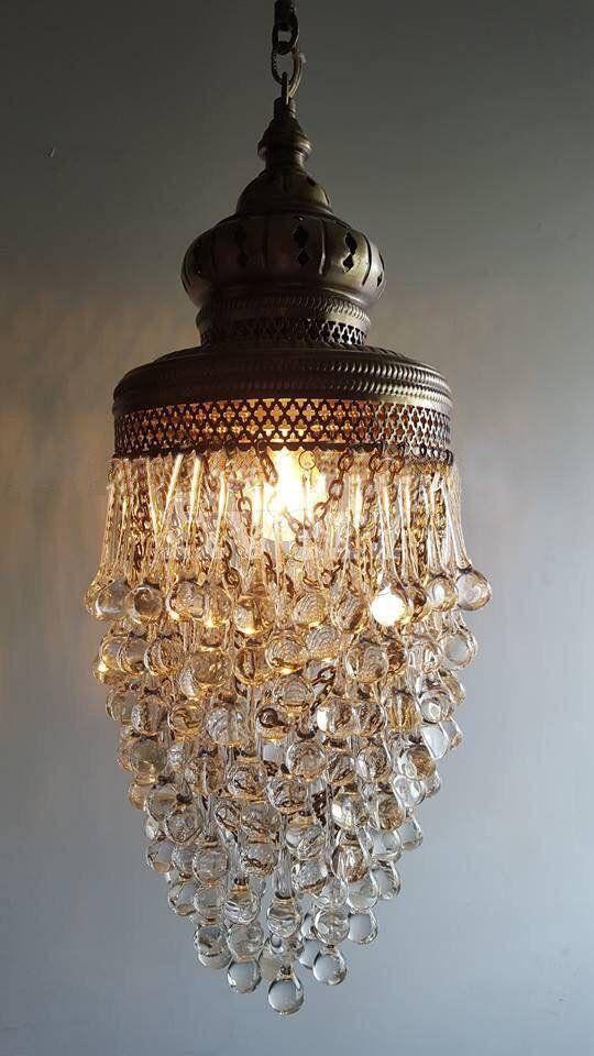 Lamptastic Teardrop stunning hanging chandelier, Turkish decor, moroccan decor,arabian decor, bohemian lamps, lighting, ottoman lamps, lamp