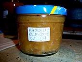 Kokos - Mirabellen Marmelade