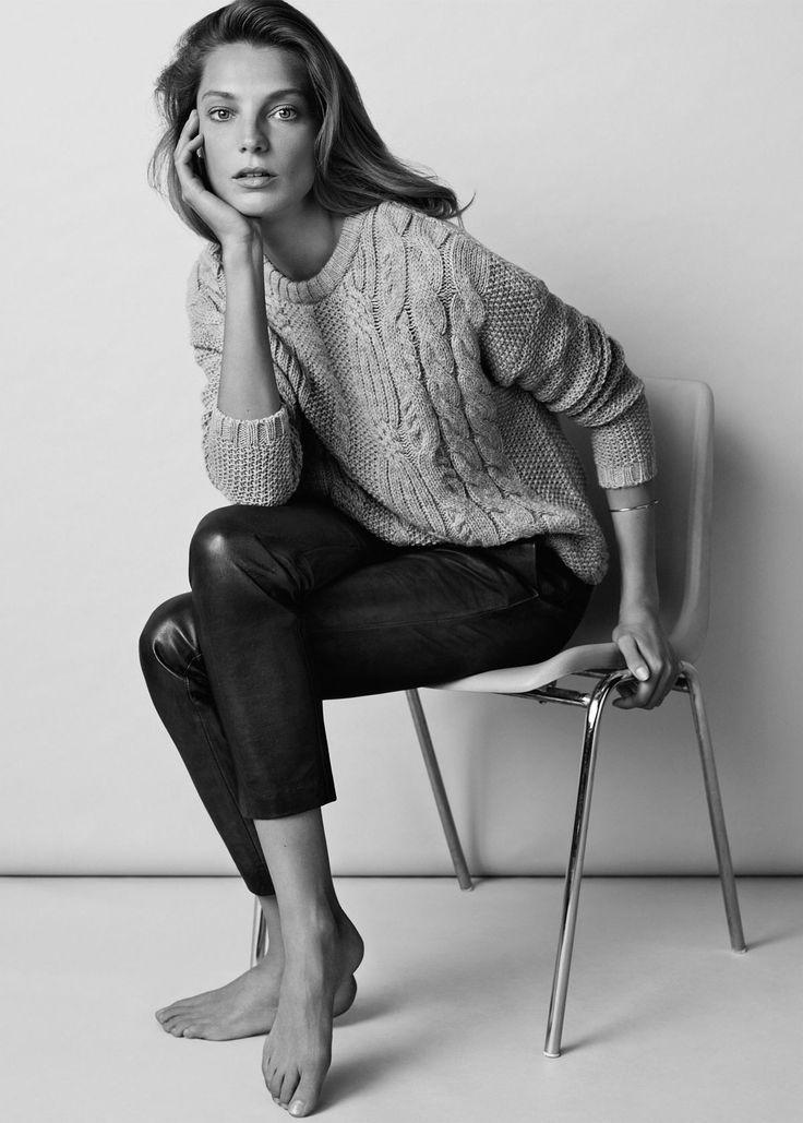 MINIMAL + CLASSIC: Daria Werbowy for Mango 2014/15