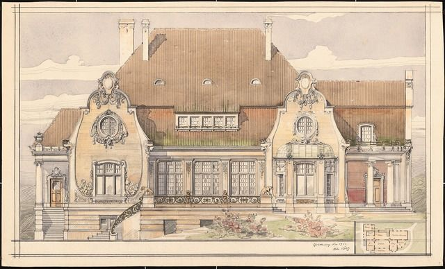 1339 best elevations images on pinterest architecture for Residential architectural drawings