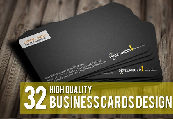 32 High Quality Business Cards Design (Premium Collection)