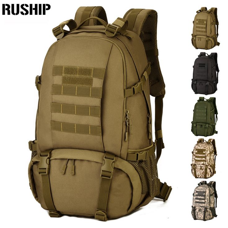 Waterproof Tactical 3D Army Rucksack Military Multifunction High Capacity Hike Camouflage Travel Backpack Mochila Molle System