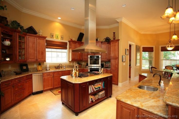 #Kitchen of the Day: Check out these traditional cherry