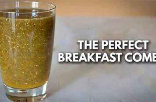 Het perfecte ontbijt combinatie, het reguleert de bloedsuikerspiegel, vermindert cholesterol en helpt je met afvallen