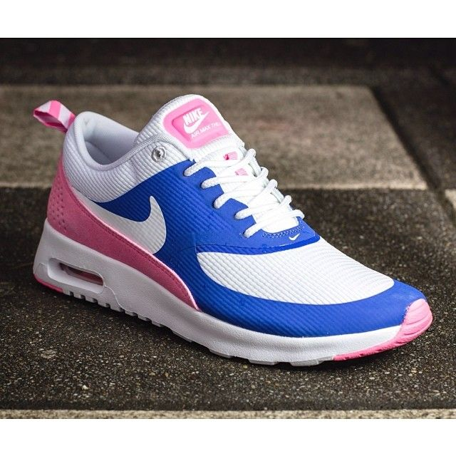 Nike Air Max Thea Game Royal Blue White Silver