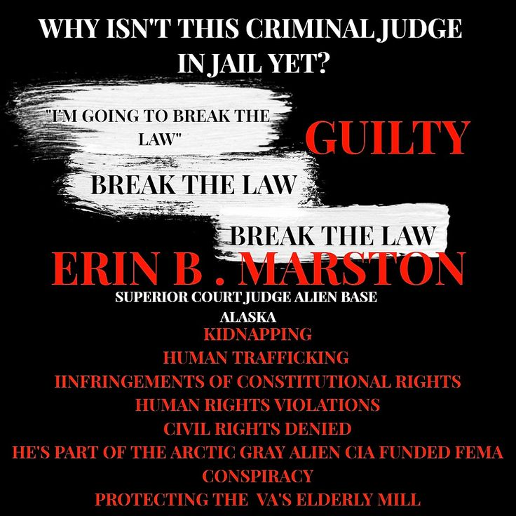 ERIN B MARSTON GUILTY OF HUMAN RIGHTS VIOLATIONS KIDNAPPING HUMAN TRAFFICKING DENIAL CONSPIRACY TO PROTECT THE VETERANS ADMINISTRATIONS ELDERLY MILL CONSTITUTIONAL RIGHTS
